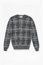 Looks Great With Maddox Checked Knit