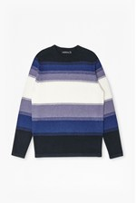 Looks Great With Fenite Stripe Ombre Knitted Jumper