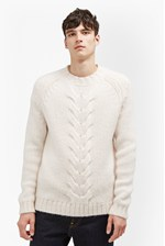 Looks Great With Ridge Cable Knit Jumper