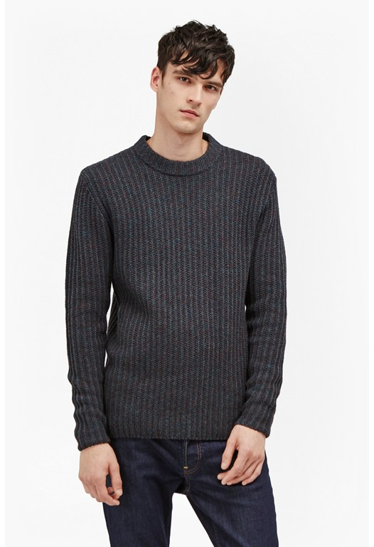 Geodes Knit Fisherman Jumper