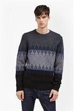Looks Great With Soundwave Knit Colour Block Jumper