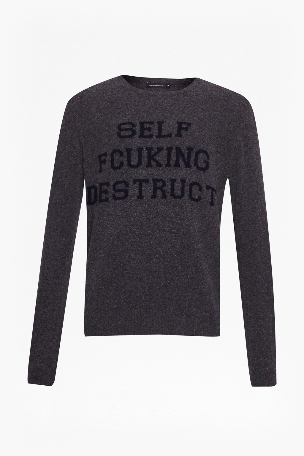 Self Fcuking Desruct Knits Jumper