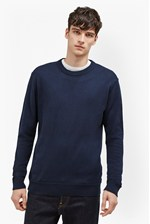 Looks Great With Winter Linked Rib Jumper