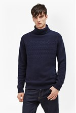 Looks Great With Cable Stripe Knits Jumper
