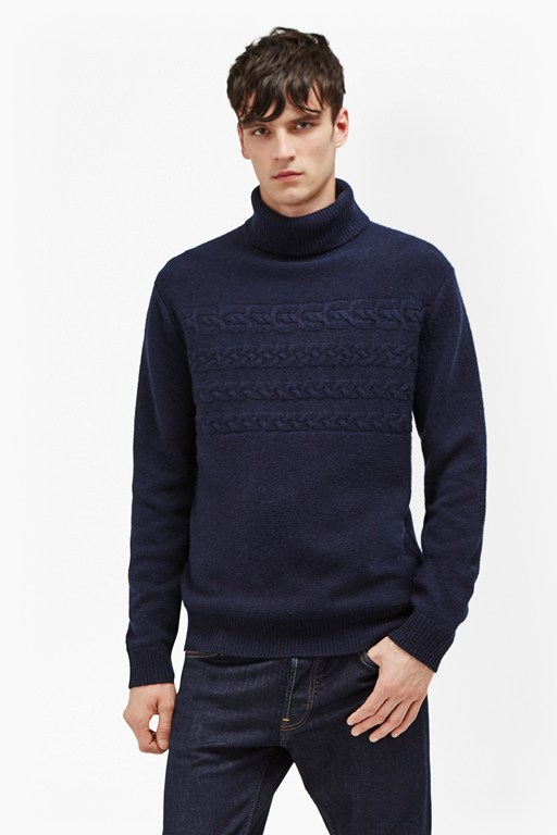 Complete the Look Cable Stripe Knits Jumper