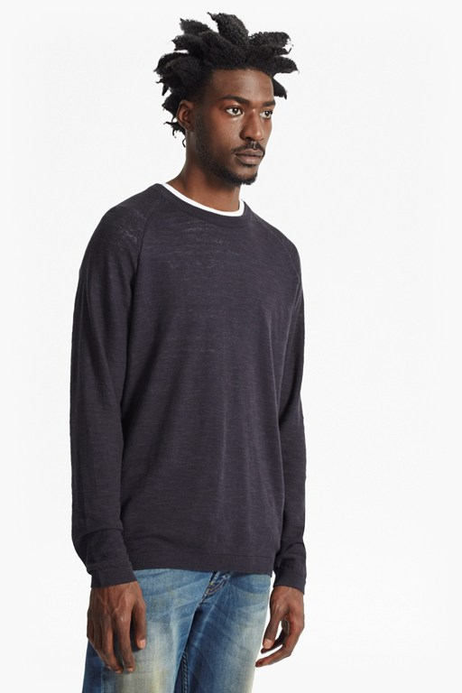Complete the Look Arambol Slub Knit Linen Blend Jumper