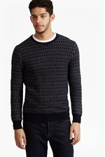 Looks Great With Kilmer Dot Knit Jumper