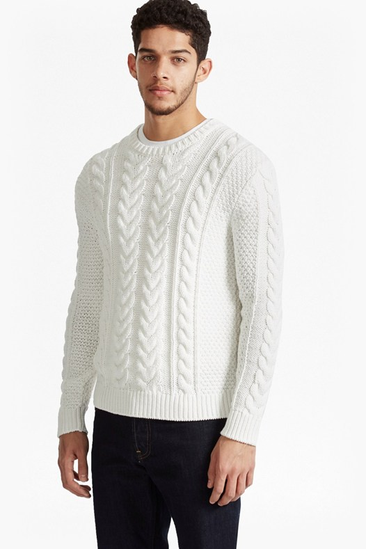 Flux Cable Knit Jumper