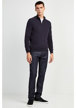 Stretch Cotton Half-Zip