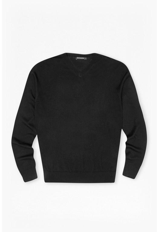 Merino Basics V Neck Jumper
