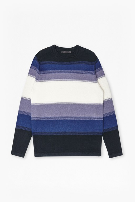 Complete the Look Fenite Stripe Ombre Knitted Jumper