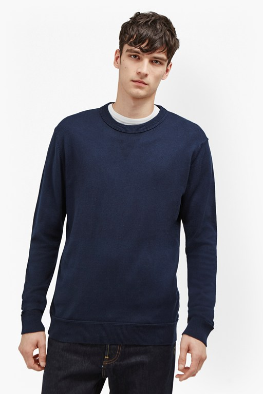 Complete the Look Winter Linked Rib Jumper