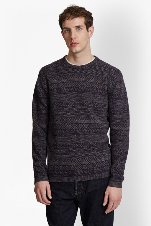 Complete the Look Rocker Fair Isle Knit Jumper