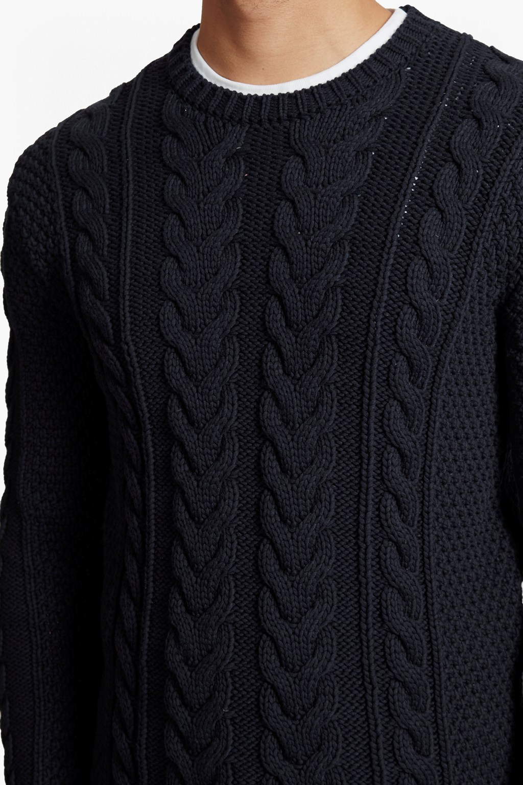 Flux Cable Knit Jumper | Mens Sale | French Connection Usa