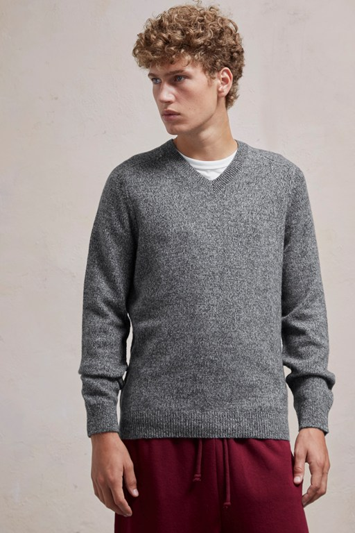 Complete the Look Lambswool Elbow Patch Jumper
