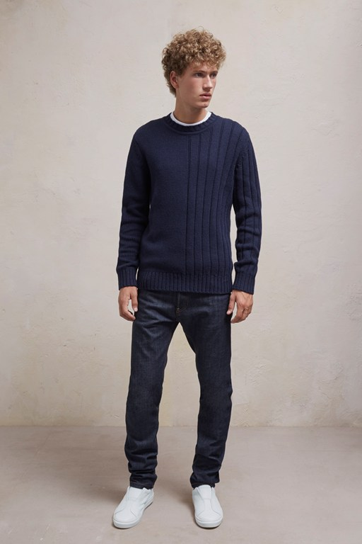 Complete the Look Cotton Wool Mixed Stitch Jumper