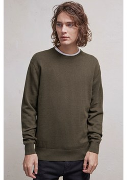 Portrait Wool Crew Neck Jumper