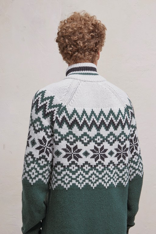 Complete the Look Ski Fair Isle Half Zip Jumper