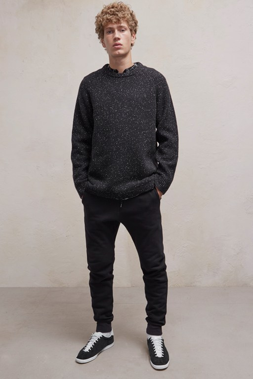 Complete the Look Oversized Donegal Crew Neck Jumper