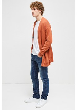Overdyed Tape Cotton Cardigan