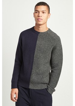 Multi Textured Lambs Wool Jumper