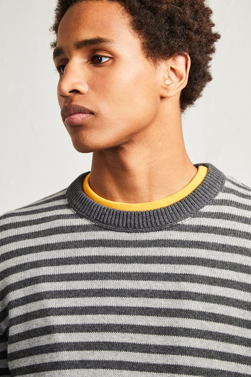 cotton wool stripe sweater