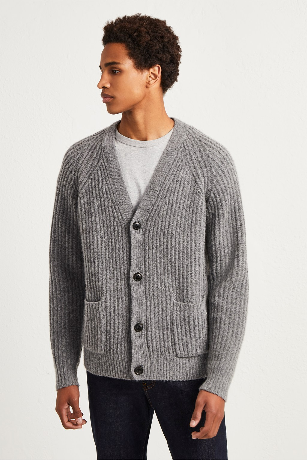 429e86c8 Supersoft Wool Cashmere Cardigan