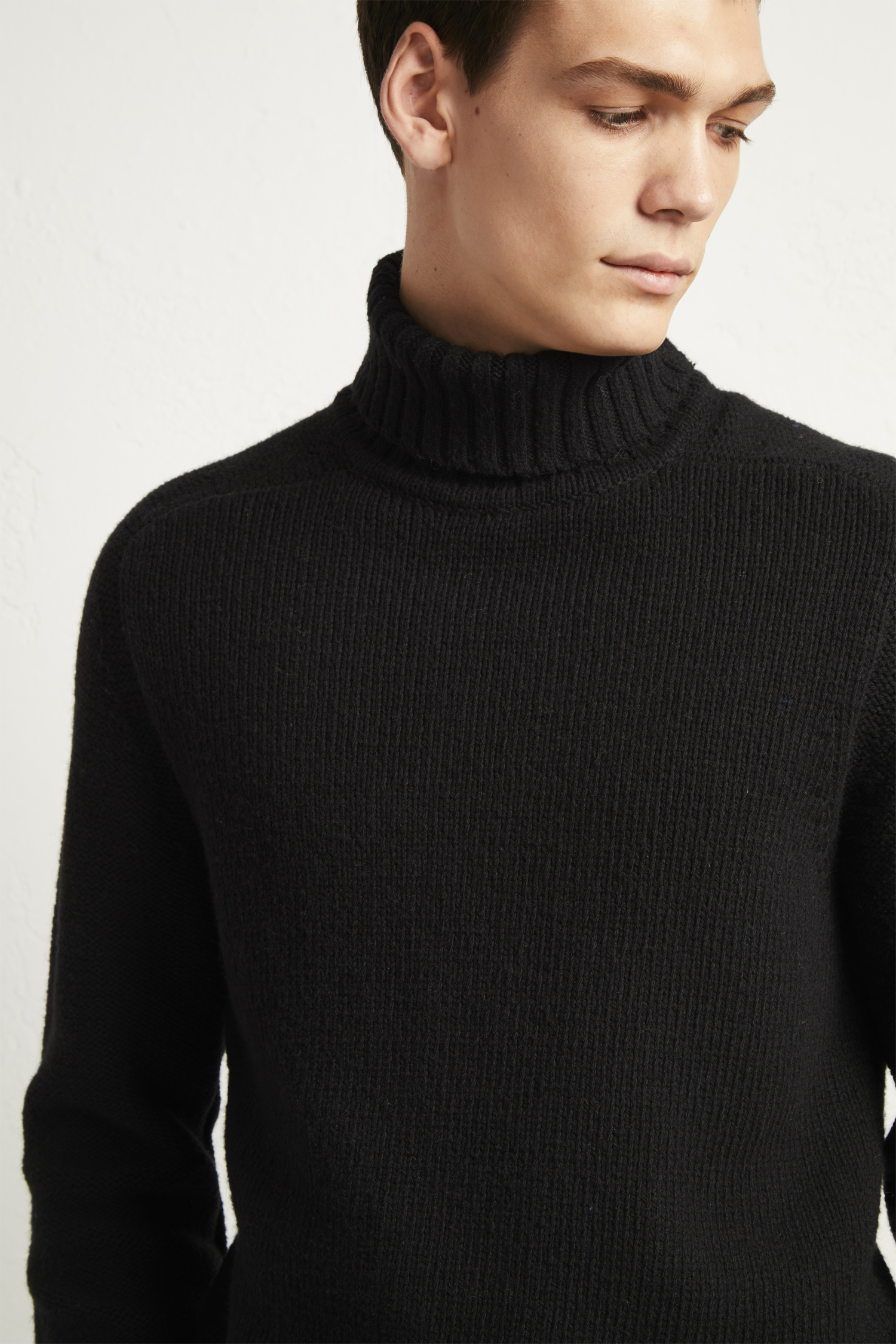 ab3d5a1532f638 Cotton Wool Chunky Roll Neck Jumper | Mens Sale | French Connection Usa