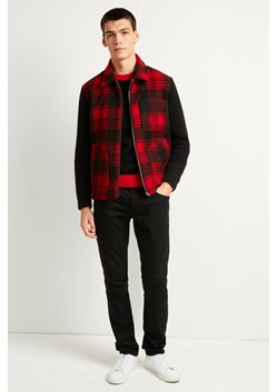 Hunting Check Hybrid Zip Sweater
