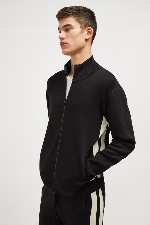 lakra knit full zip jumper
