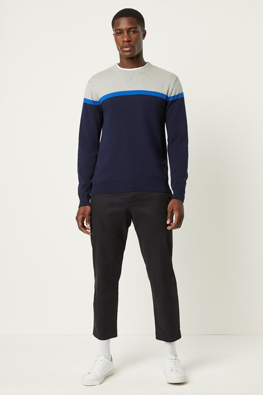 Complete the Look Core Cotton Stripe Sweater