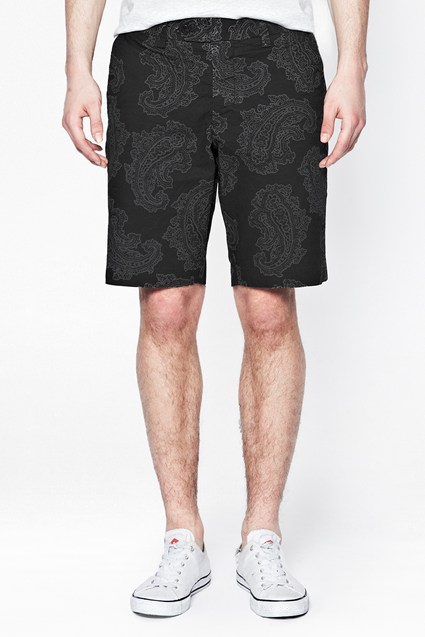 Powerful Paisley Shorts