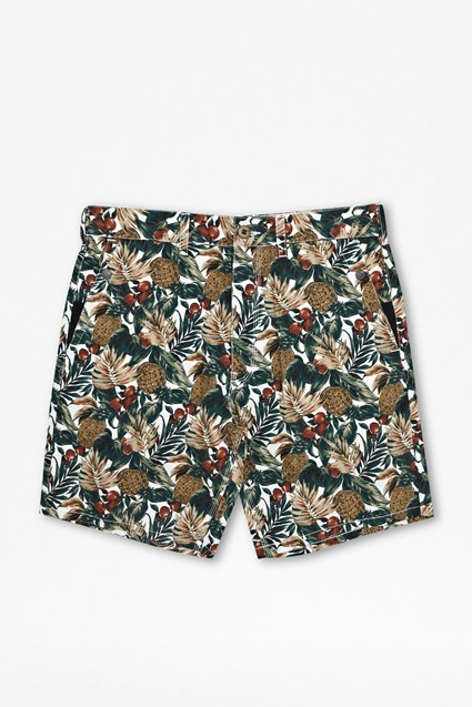 Hawaiian Cotton Shorts