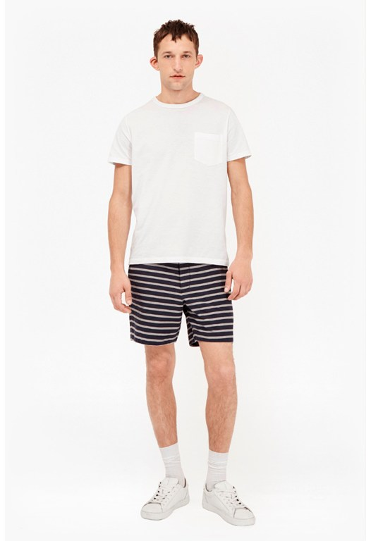 Oxford Stripe Shorts