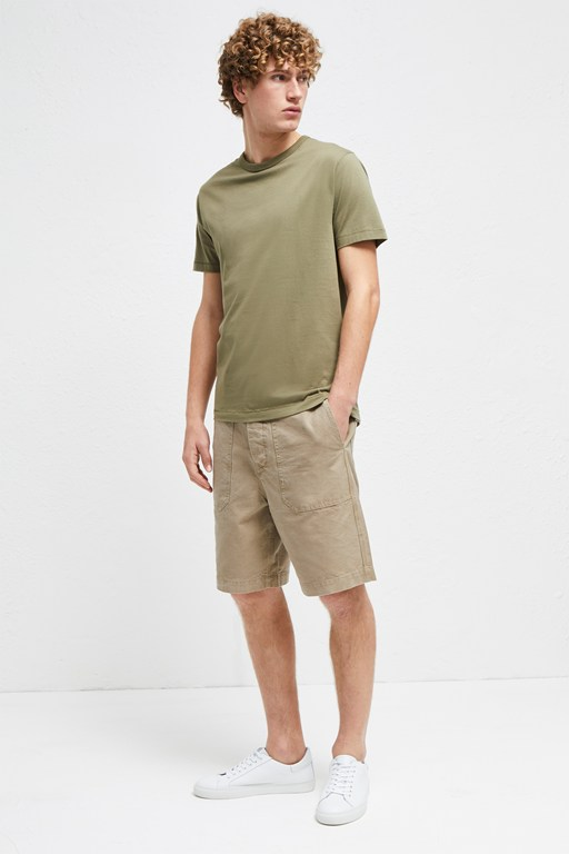 Complete the Look Workwear Canvas Shorts