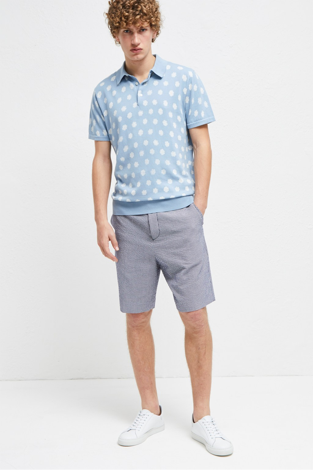 Seersucker Suiting Shorts Mens Sale French Connection Usa