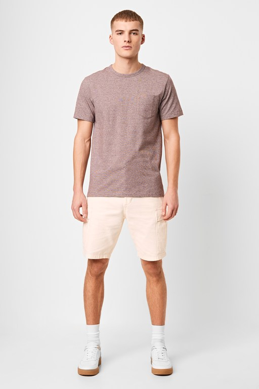 overdyed herringbone short