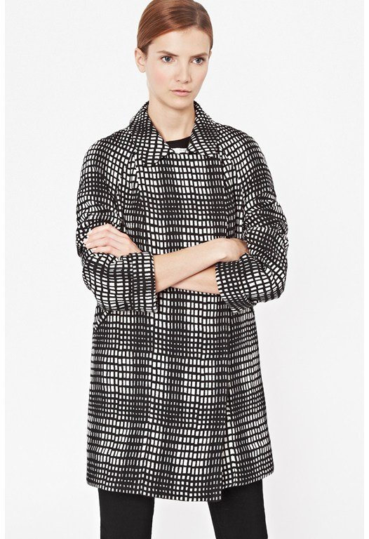 Penelope Pop Checked Coat
