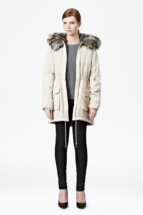 Freda Parka Hooded Coat