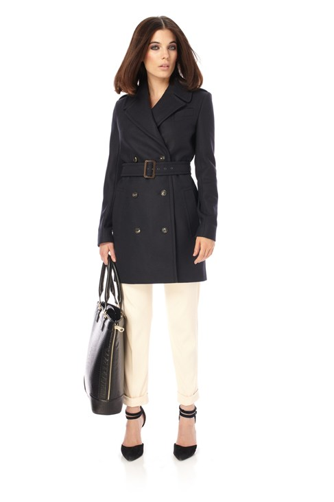 Classic Wool Wonderland Trench Coat
