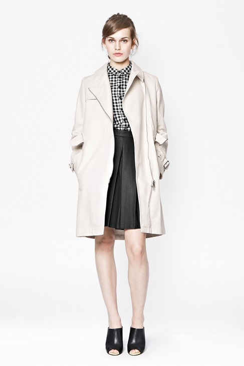Freeway Cotton Belted Trench Coat