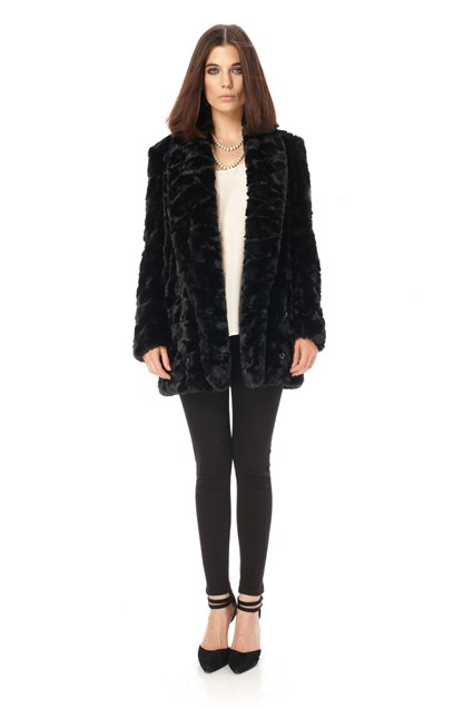 Narnia Faux Fur Coat