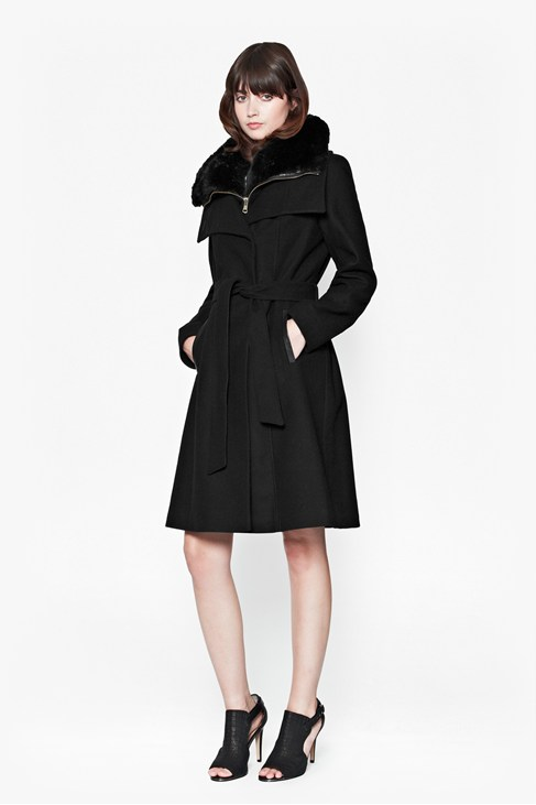 Zipout Vesty Wool Coat