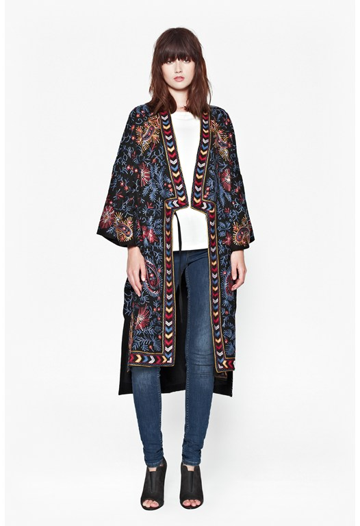 Miko Stitch Coat
