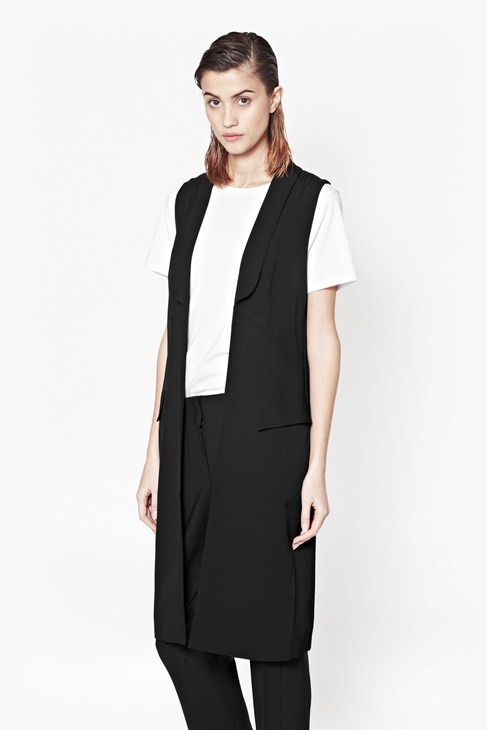 Deco Dream Sleeveless Coat