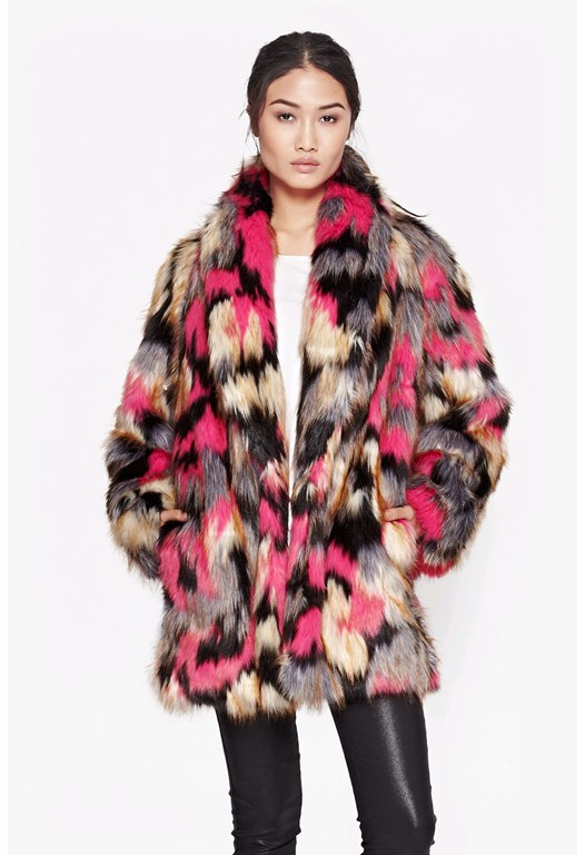 Stardust Fur Coat