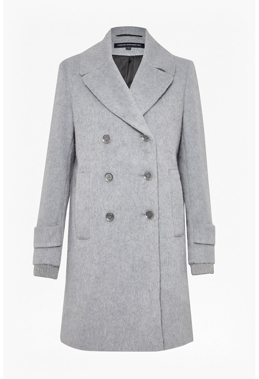 Double Breast Boyfriend Coat