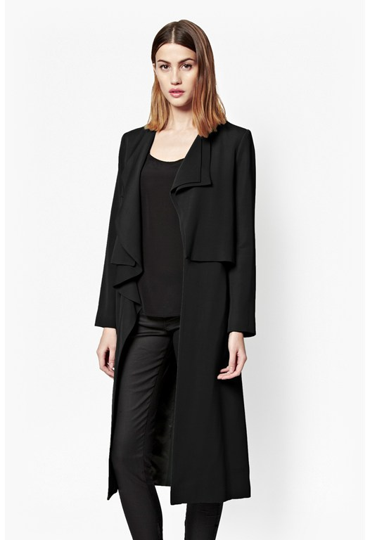 Cassie Waterfall Duster Coat