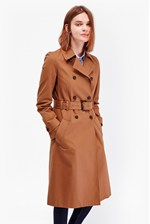 Looks Great With Canyon Twill Trench Coat