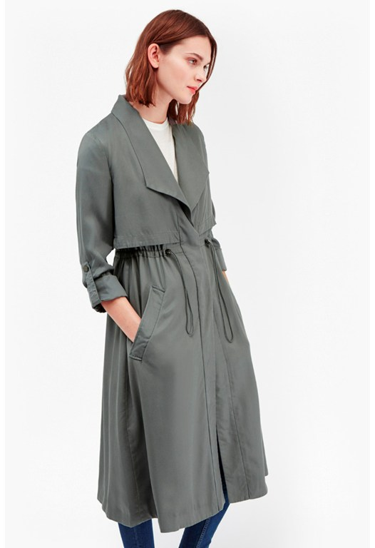 Kruger Tencel Oversized Coat